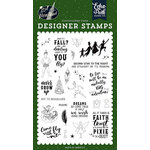 Echo Park - Lost in Neverland Collection - Clear Photopolymer Stamps - Never Grow Up