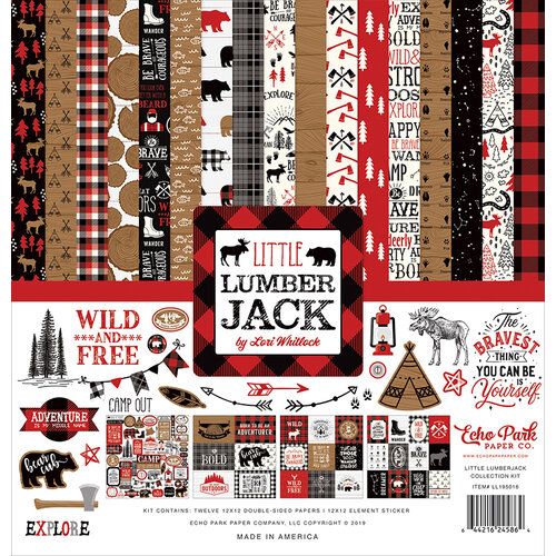 Echo Park - Little Lumberjack Collection - 12 x 12 Collection Kit