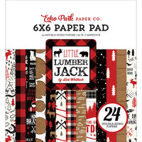 Echo Park - Little Lumberjack Collection - 6 x 6 Paper Pad