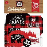 Echo Park - Little Lumberjack Collection - Ephemera