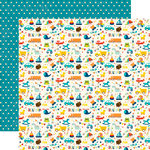 Echo Park - Little Man Collection - 12 x 12 Double Sided Paper - Icons