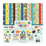 Echo Park - Little Man Collection - 12 x 12 Collection Kit