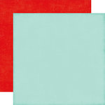 Echo Park - Little Man Collection - 12 x 12 Double Sided Paper - Light Blue