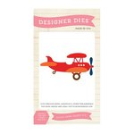 Echo Park - Little Man Collection - Designer Dies - Vintage Airplane