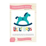 Echo Park - Little Man Collection - Designer Dies - Rocking Horse