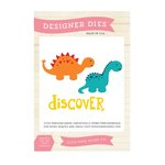 Echo Park - Little Man Collection - Designer Dies - Discover Dinosaurs