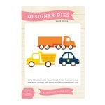 Echo Park - Little Man Collection - Designer Dies - Vehicles