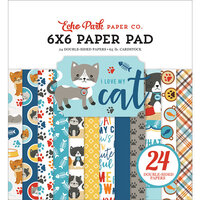 Echo Park - I Love My Cat Collection - 6 x 6 Paper Pad