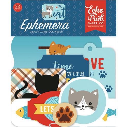 Echo Park - I Love My Cat Collection - Ephemera