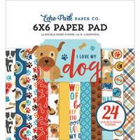 Echo Park - I Love My Dog Collection - 6 x 6 Paper Pad