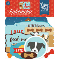Echo Park - I Love My Dog Collection - Ephemera