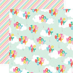 Echo Park - Let's Party Collection - 12 x 12 Double Sided Paper - Happy Birthday