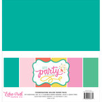 Echo Park - Let's Party Collection - 12 x 12 Paper Pack - Solids