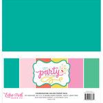 Echo Park - Let's Party Collection - 12 x 12 Paper Pack - Solids