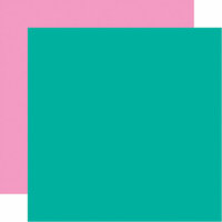 Echo Park - Let's Party Collection - 12 x 12 Double Sided Paper - Blue