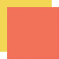 Echo Park - Let's Party Collection - 12 x 12 Double Sided Paper - Orange