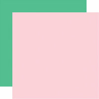 Echo Park - Let's Party Collection - 12 x 12 Double Sided Paper - Light Pink