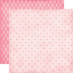 Echo Park - Love Story Collection - 12 x 12 Double Sided Paper - So Sweet