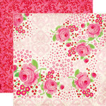 Echo Park - Love Story Collection - 12 x 12 Double Sided Paper - Romance