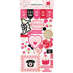 Echo Park - Love Story Collection - Chipboard Stickers