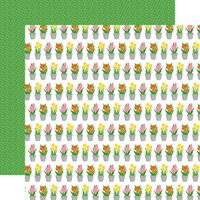 Echo Park - I Love Spring Collection - 12 x 12 Double Sided Paper - Greenhouse Gifts