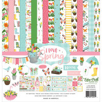 Echo Park - I Love Spring Collection - 12 x 12 Collection Kit