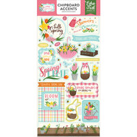 Echo Park - I Love Spring Collection - Chipboard Stickers - Accents