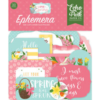 Echo Park - I Love Spring Collection - Ephemera