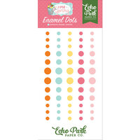 Echo Park - I Love Spring Collection - Enamel Dots