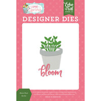 Echo Park - I Love Spring Collection - Decorative Dies - Bloom Plant