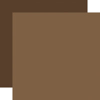 Echo Park - Let's Lumberjack Collection - 12 x 12 Double Sided Paper - Light Brown