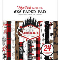 Echo Park - Let's Lumberjack Collection - 6 x 6 Paper Pad