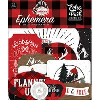 Echo Park - Let's Lumberjack Collection - Ephemera