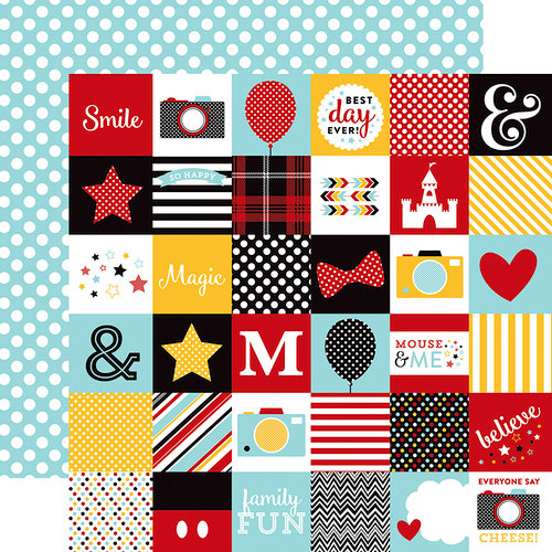 Echo Park - Magical Adventure Collection - 12 x 12 Double Sided Paper - 2 x 2 Journaling Cards
