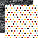 Echo Park - Magical Adventure Collection - 12 x 12 Double Sided Paper - Multi Dots