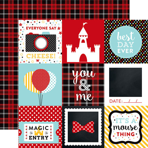 Echo Park - Magical Adventure Collection - 12 x 12 Double Sided Paper - 4 x 4 Journaling Cards