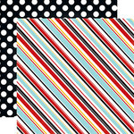 Echo Park - Magical Adventure Collection - 12 x 12 Double Sided Paper - Silly Stripes