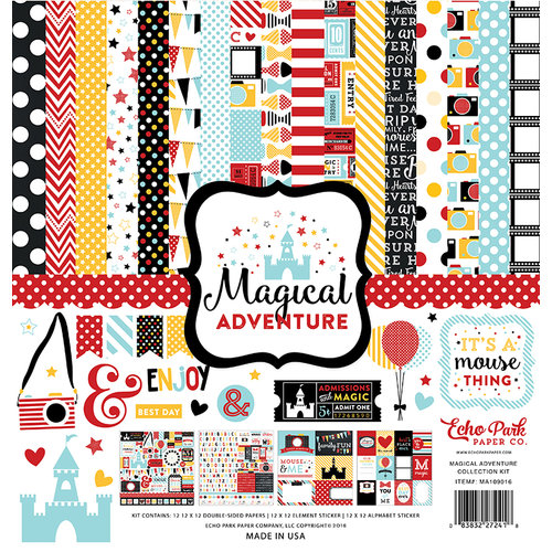 Echo Park - Magical Adventure Collection - 12 x 12 Collection Kit