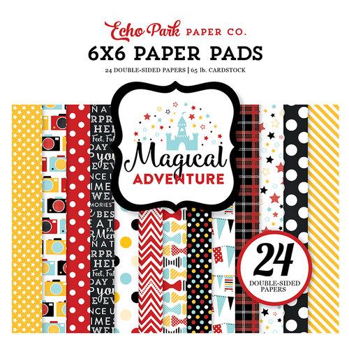 Echo Park - Magical Adventure Collection - 6 x 6 Paper Pad