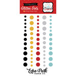 Echo Park - Magical Adventure Collection - Enamel Dots - Glitter