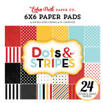 Echo Park - Magical Adventure Collection - 6 x 6 Paper Pad - Dots and Stripes