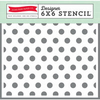 Echo Park - Magical Adventure Collection - 6 x 6 Stencil - Polka Dot 2