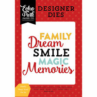 Echo Park - Magical Adventure Collection - Designer Dies - Family Magic Word