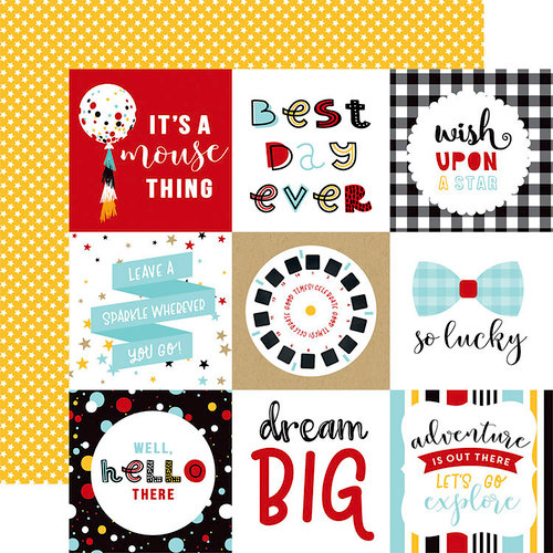 Echo Park - Magical Adventure 2 Collection - 12 x 12 Double Sided Paper - 4 x 4 Journaling Cards