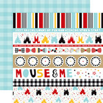 Echo Park - Magical Adventure 2 Collection - 12 x 12 Double Sided Paper - Border Strips