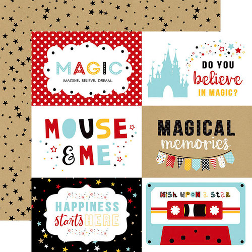 Echo Park - Magical Adventure 2 Collection - 12 x 12 Double Sided Paper - 6 x 4 Journaling Cards
