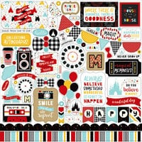 Echo Park - Magical Adventure 2 Collection - 12 x 12 Cardstock Stickers - Elements