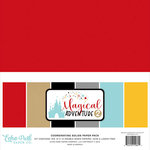 Echo Park - Magical Adventure 2 Collection - 12 x 12 Paper Pack - Solids