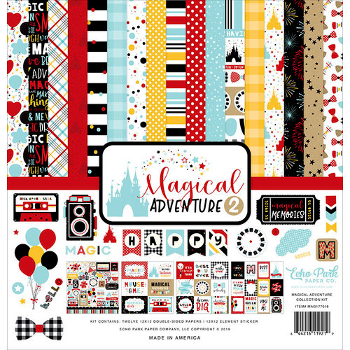 Echo Park - Magical Adventure 2 Collection - 12 x 12 Collection Kit