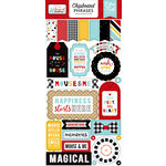 Echo Park - Magical Adventure 2 Collection - Chipboard Stickers - Phrases